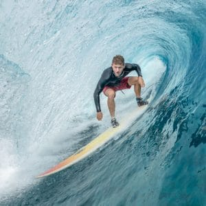 Doctor Colby Caltrider Surfing